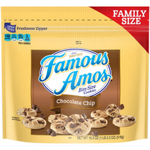 Load image into Gallery viewer, Famous Amos Chocolate Chip Cookies, Family Size, 18.3oz