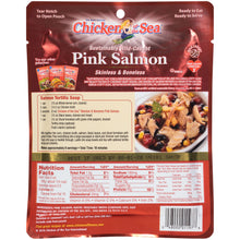 Load image into Gallery viewer, (3 Pack) Chicken of The Sea Skinless Boneless Wild Pink Salmon, 5 oz Pouch