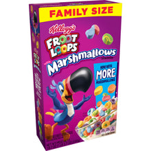 Load image into Gallery viewer, Kellogg's Froot Loops, Breakfast Cereal, Original with Marshmallows, Family Size, 18.7 Oz