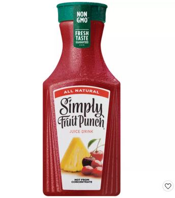 Simply Fruit Punch All Natural Juice Drink - 52 fl oz
