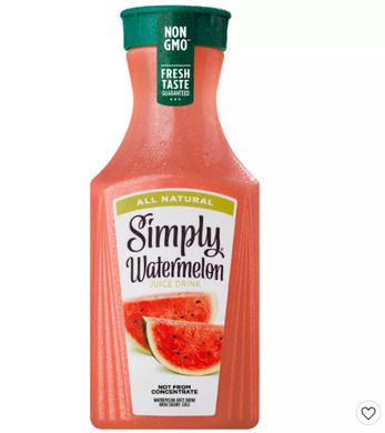 Simply Watermelon Juice Drink - 52 fl oz