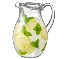Load image into Gallery viewer, Acrylic Pitcher (78 oz, 2.2 qt), BPA-Free and Shatter-Proof, Great for Iced Tea, Sangria, Lemonade, and More