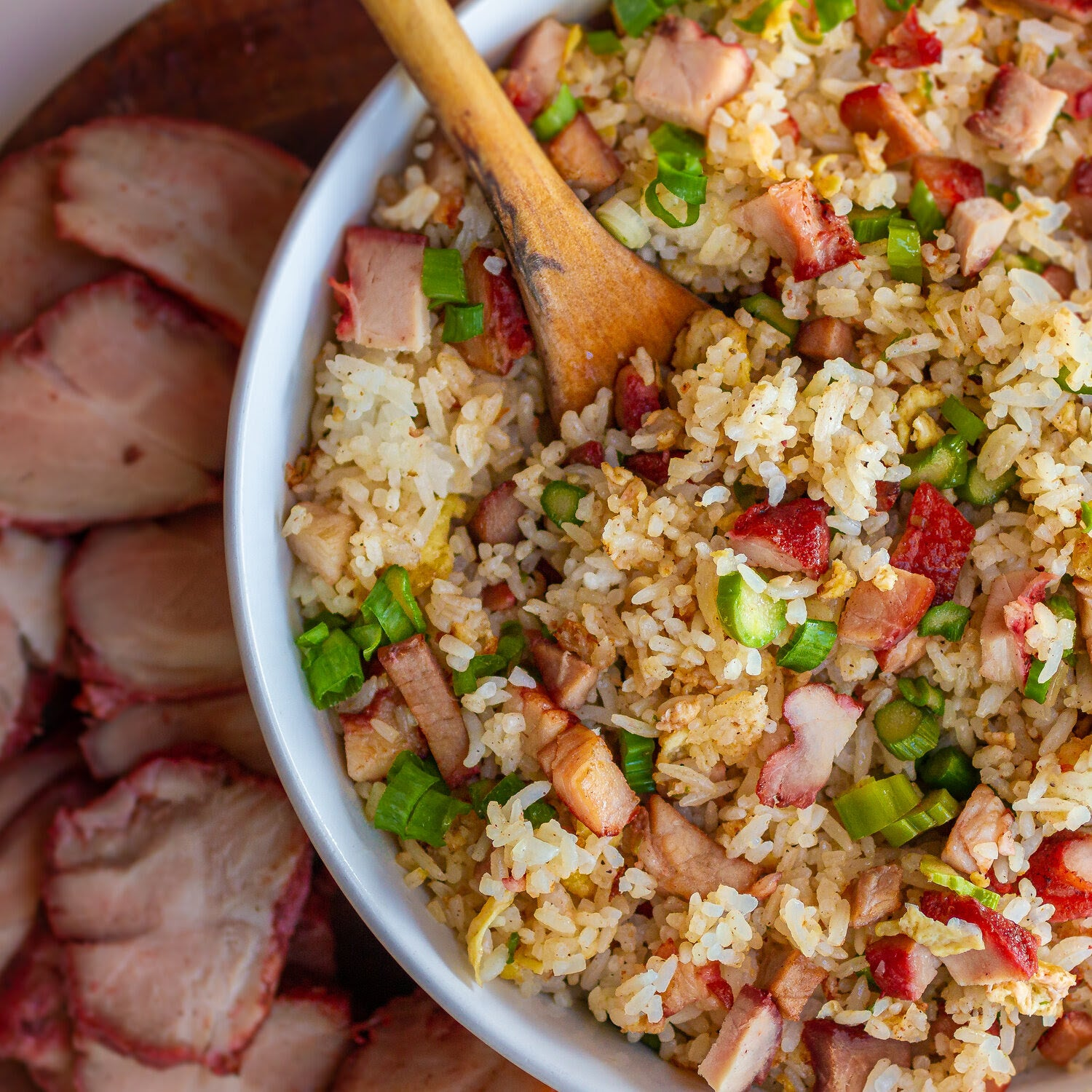 BBQ Pork Fried Rice (Com Chien Duong Chau)