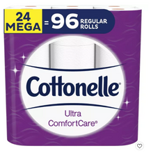 Load image into Gallery viewer, Cottonelle Ultra Comfort Care Toilet Paper - Mega Rolls