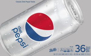 Diet Pepsi (12 oz. cans, 36 pk.)