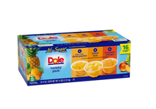 Load image into Gallery viewer, Dole No Sugar Added Mixed Fruit Variety Pack (4 oz., 16 pk.)