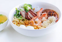 Load image into Gallery viewer, Dry Vietnamese Pork & Seafood Noodle Soup with Sauce (Hu Tieu Kho Voi Nuoc Sot)