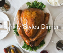 Load image into Gallery viewer, Whole Rotisserie Chicken Family style  Great for family style dinner or any special occasion all year round