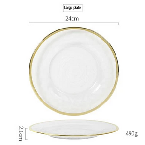 The Glass  Plate Cutlery Collection, LARGE