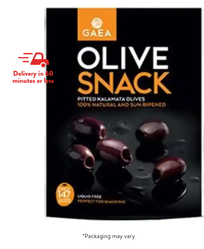 Gaea Pitted Kalamatta Olives Olives / United States