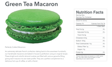 Load image into Gallery viewer, Green Tea Macaron