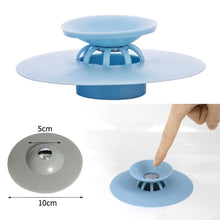 Load image into Gallery viewer, 1Pc Kitchen Rubber Bath Tub Sink Floor Drain Plug Kitchen Laundry Water Stopper Tool Laundry Bathroom Bathtub Drain Press