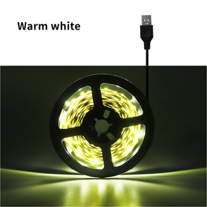 Cocina RGB LED Strip Light for Kitchen 1m-5m Tape Ribbon 24 keys Remote LED Light for TV Backlight Desktop Table Home Decoration