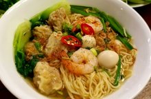 Load image into Gallery viewer, House Special Wonton Yellow Egg Noodle Soup.