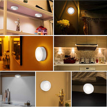 Load image into Gallery viewer, Cabinet Light Wireless Dimmable Touch Sensor Dual Color LED Night Lamps Battery Power Remote Control Suitable for Kitchen Stair