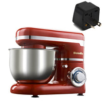 Load image into Gallery viewer, 1200W 4L Stainless Steel Bowl 6-speed Kitchen Food Stand Mixer Cream Egg Whisk Blender Cake Dough Bread Mixer Maker Machine