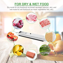 Load image into Gallery viewer, Electric Vacuum Sealer Packaging Machine For Home Kitchen Including 10pcs Food Saver Bags Vacuum Food Sealing 110V/220V