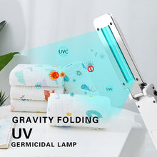 Load image into Gallery viewer, UVC Lamp Sterilizer 3W Portable UV Light Sterilization Lamp 253 nm 5V UVC Disinfection Light For Home Kitchen Bedroom Germicidal