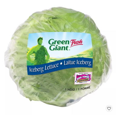 Iceberg Lettuce Head - Each