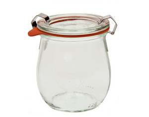 Jelly Jar - 1/5 Liter, Set of 6