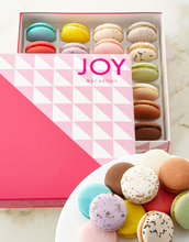 Load image into Gallery viewer, JOY Macarons Set of 24 Assorted Macarons