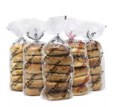 Assorted Bagels, 6 Count, 5 Pack