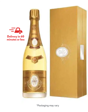 Louis Roederer Cristal Gift Box Champagne & Sparkling Wine /12% ABV / Champagne, France  750.0ml bottle - from $319.99