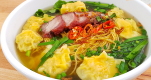 House Special Wonton Yellow Egg Noodle Soup.