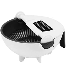 Load image into Gallery viewer, Nine in one multipurpose filter basket vegetable chopper potato shredder vegetable chopper vegetable cleaning basket kitchen supplies