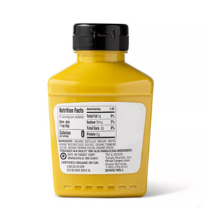 Organic Yellow Mustard - 9oz
