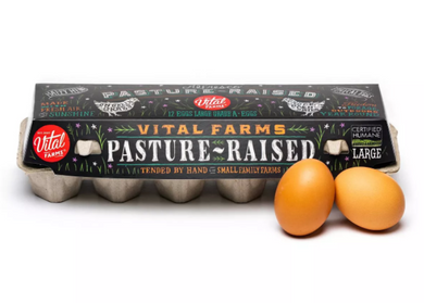 Vital Farms Alfresco Pasture-Raised Grade A Large Eggs