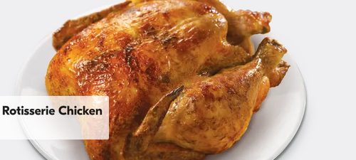 Whole Rotisserie Chicken Great for family style dinner or any special occasion all year round