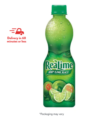 ReaLime Lime Juice 5(3 Reviews) Soda, Water, & Soft Beverages / United States  *Packaging may vary
