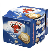 Load image into Gallery viewer, Creamy Swiss Wedge, 8 Count, 3 Pack