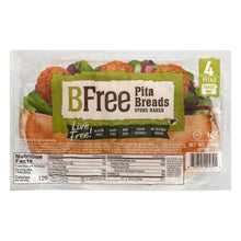 Load image into Gallery viewer, Bfree Gluten Free Pita Breads, Vegan, Nut Free, Egg Free, Dairy Free, Soy Free (3 Pack)