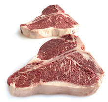Load image into Gallery viewer, USDA Choice Angus Beef Loin T-Bone Steak (priced per pound)