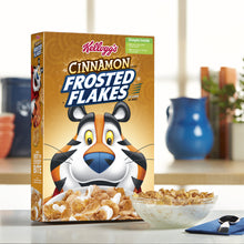 Load image into Gallery viewer, Kellogg's Frosted Flakes, Breakfast Cereal, Cinnamon, Family Size, 24 Oz