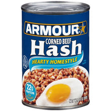 Load image into Gallery viewer, Armour Hearty Homestyle Corned Beef Hash 14 oz