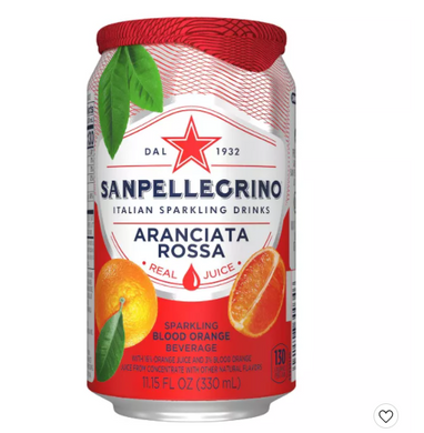 Blood Orange Sparkling Juice 11.15 Oz - San Pellegrino