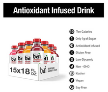Load image into Gallery viewer, Bai Antioxidant Surfside Variety Pack (18oz / 15pk)