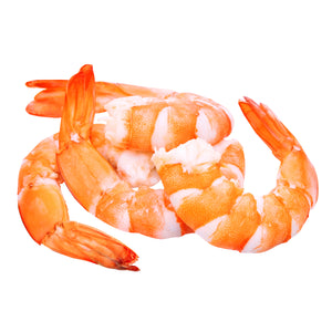 Premium Cooked Cocktail Shrimp, Tail-On Thaw and Serve, 51-60 pcs, 14 oz ring