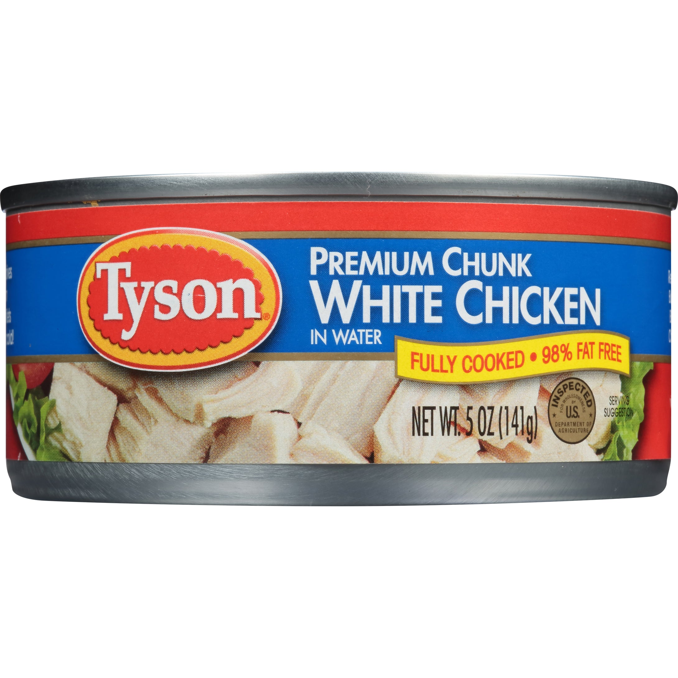Tyson® Premium Chunk White Chicken Breast, 5 oz.