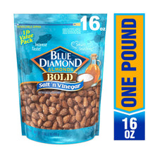 Load image into Gallery viewer, Blue Diamond Salt 'n Vinegar Almonds, 16 Oz