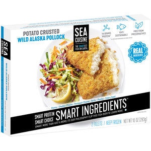 Sea Cuisine® Potato Crusted Wild Alaska Pollock Fillets 2 ct Box