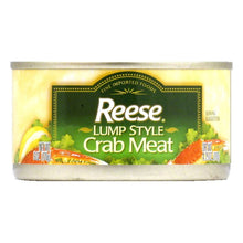Load image into Gallery viewer, Reese Lump Style Crabmeat, 6 OZ (Pack of 12)