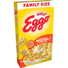 Load image into Gallery viewer, Kellogg's Eggo, Breakfast Cereal, Maple Flavored Homestyle Waffle, Family Size, 14.1 Oz