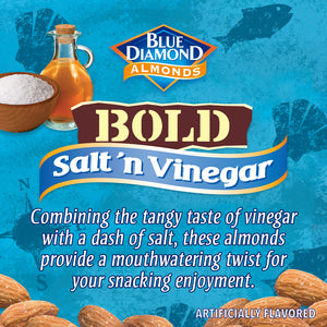 Blue Diamond Salt 'n Vinegar Almonds, 16 Oz