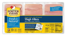 Load image into Gallery viewer, Foster Farms Fresh Chicken Thighs with skin and bone - Family Size