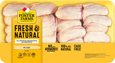 Foster Farms Party Pack Chicken Wings, 4.75-5.0 lb