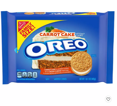 Carrot Cake Oreo Family Size - 17oz